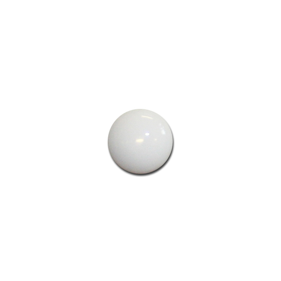 Porcelain Blank for Overlay, Round, 10mm