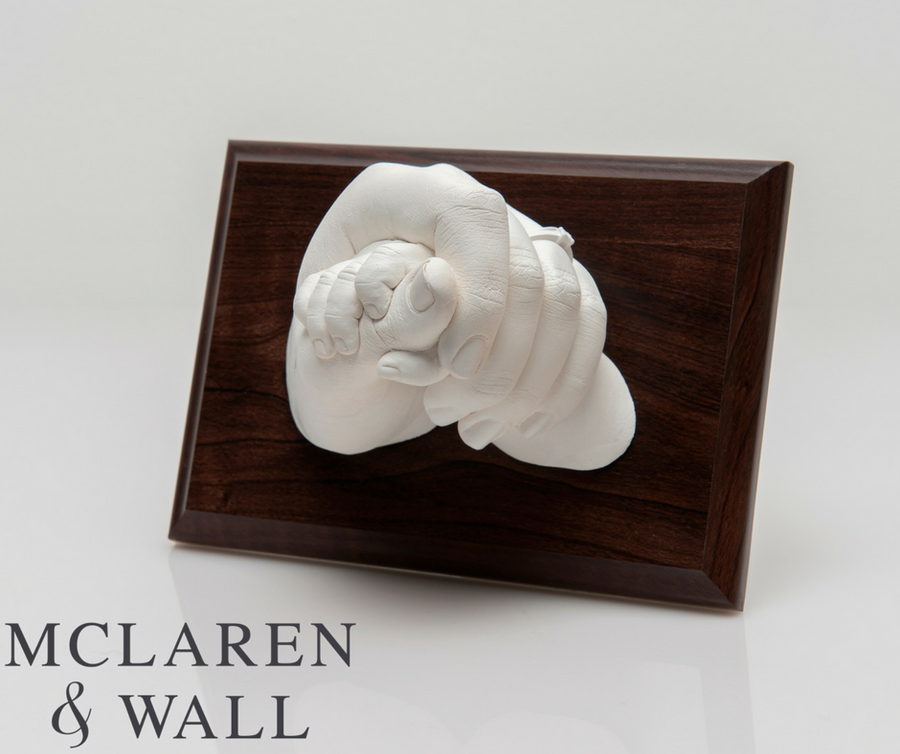 Created by Natasha Mockett from McLaren & Wall, using Resin Plaster.