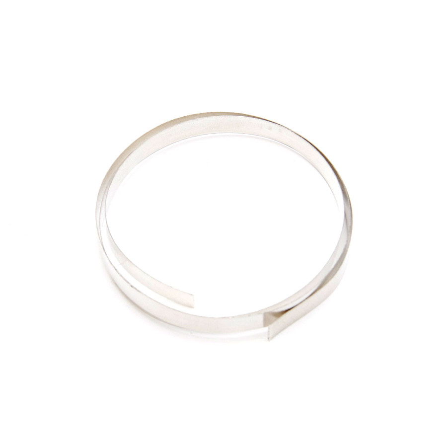 Fine Silver Flat Bezel Strip Wire - 6mm