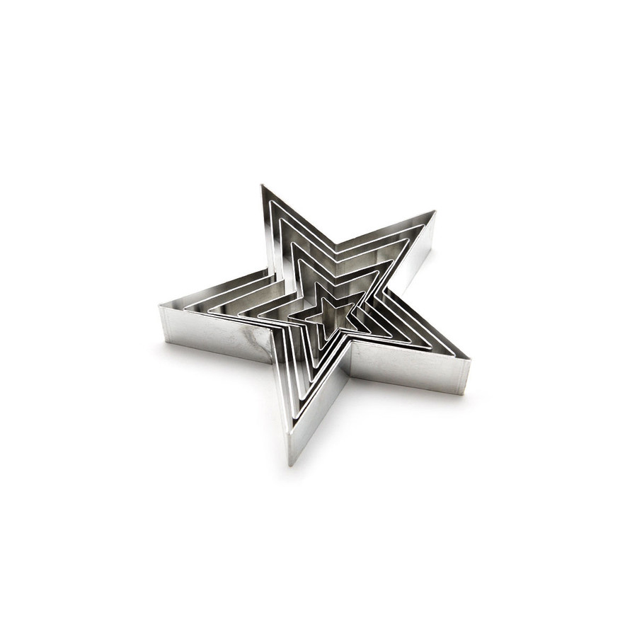 Cutters - Stars - set of 7