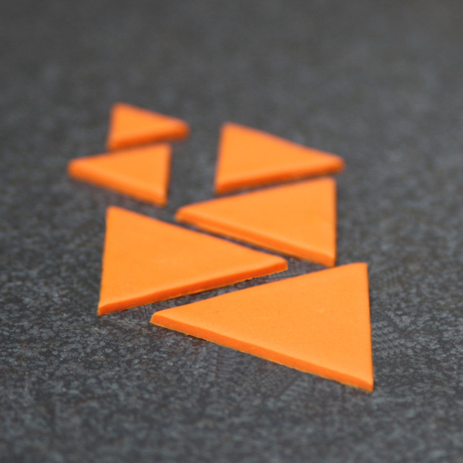 Cutters - Triangles - set of 6