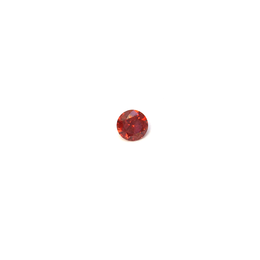 Lab Created Gemstone - Garnet Round