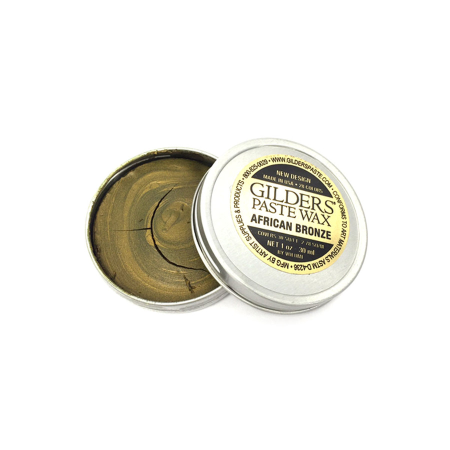 Baroque Art Gilders Paste Wax - African Bronze