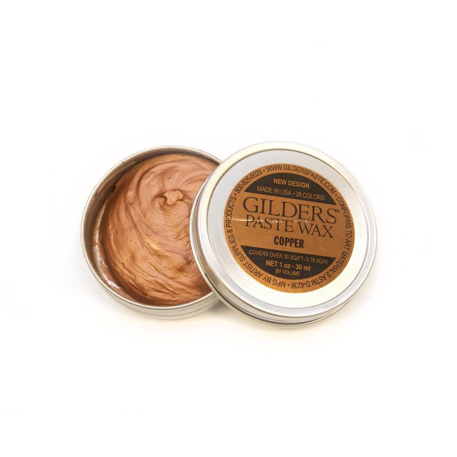 Baroque Art Gilders Paste Wax - Copper