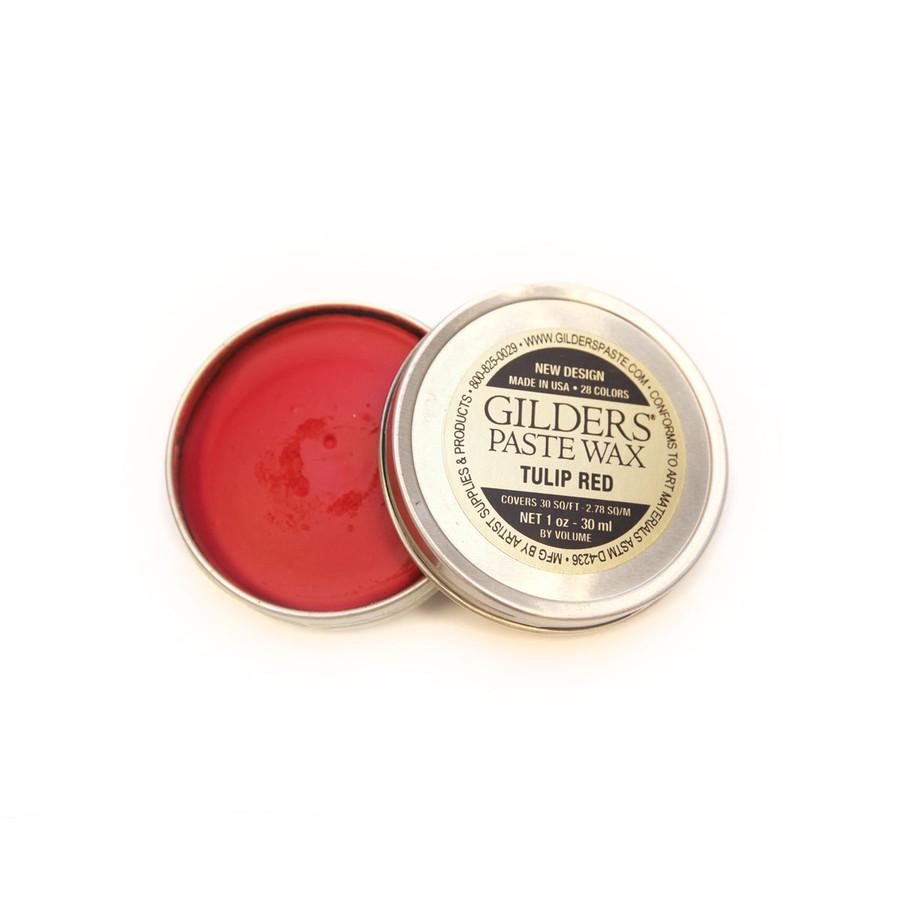 Baroque Art Gilders Paste Wax - Tulip Red