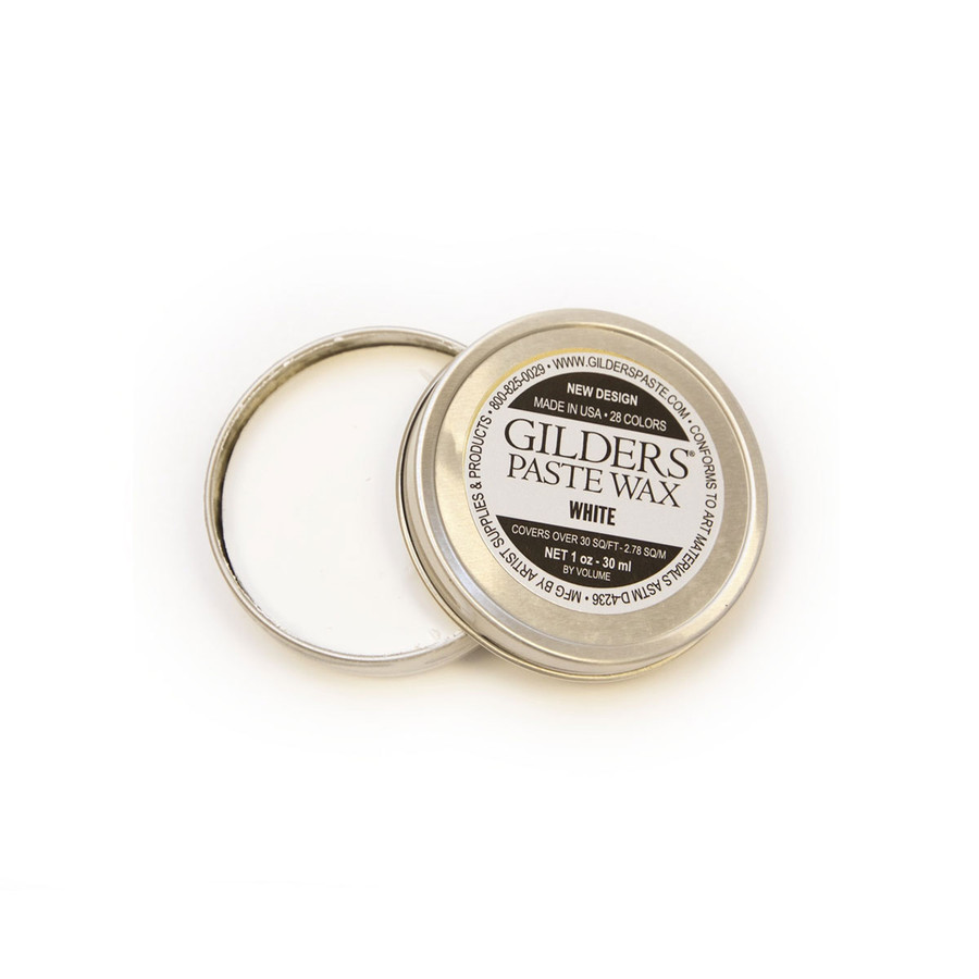 Baroque Art Gilders Paste Wax - White