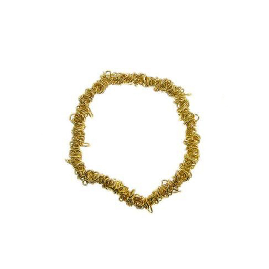 Bungee Stretch Bracelet - Bright Gold