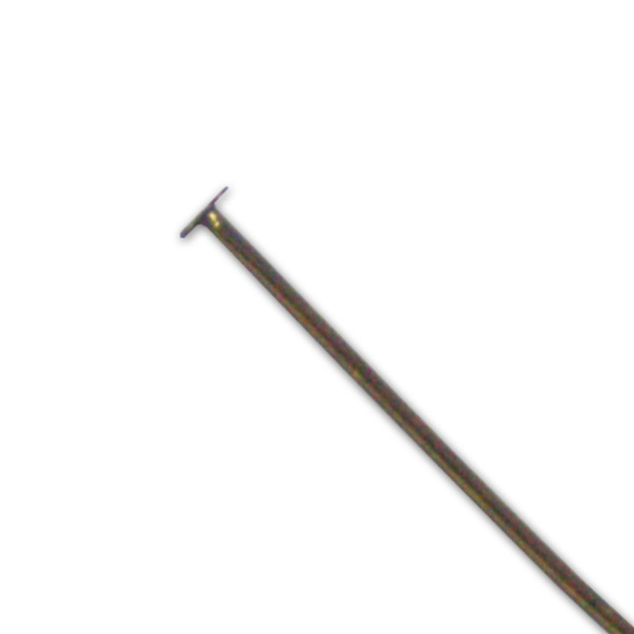 Head Pin - Antique Brass - 50mm