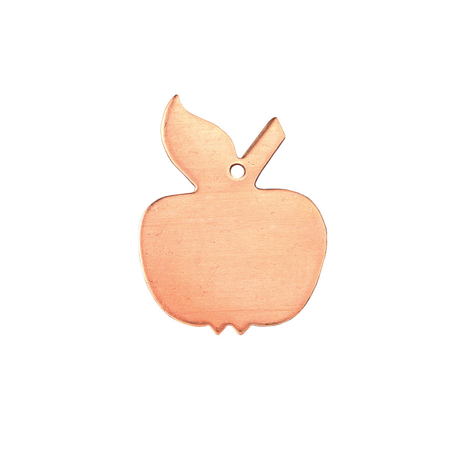 Copper Blank - Apple - 30 x 23mm