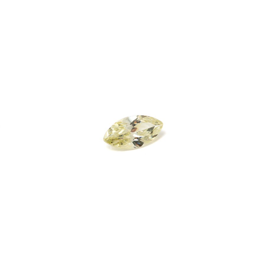 Lab Created Gemstone - Lime Marquise 8x4mm (Non-fireable)