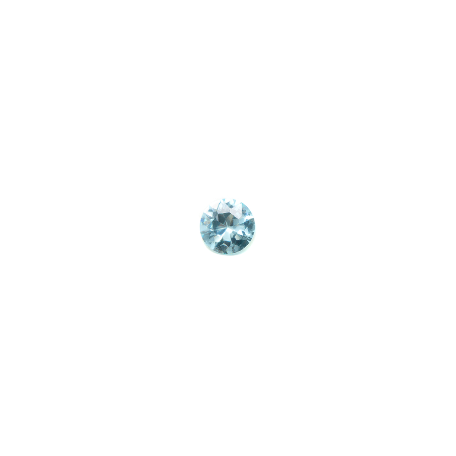 Lab Created Gemstone - Aquamarine Round 4mm (Non-fireable)