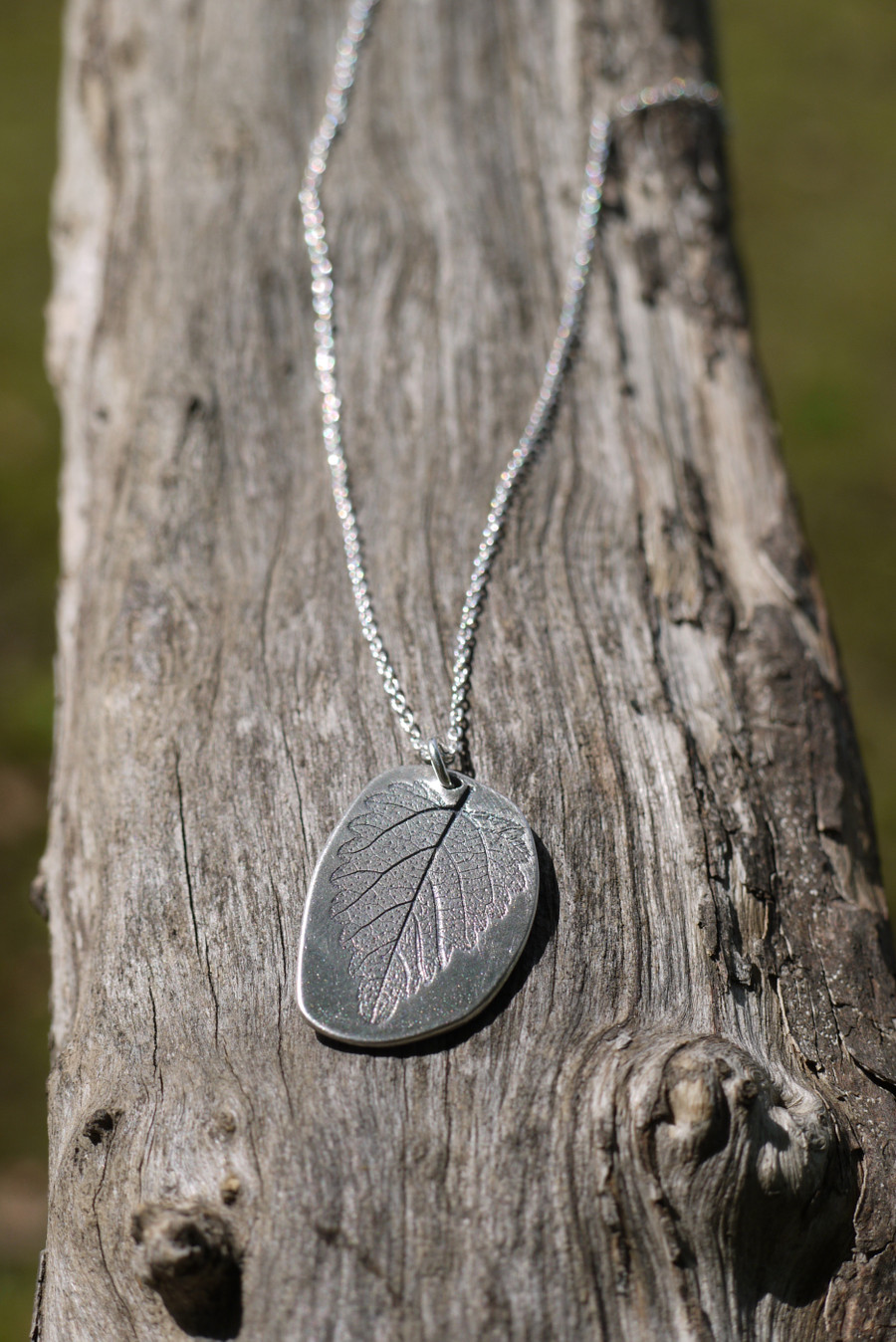 Art Clay Fine Silver picks up detail beautifully! Even the finest pattern, like delicate leaves or finger prints.