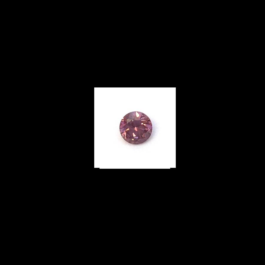 Lab Created Gemstone -Smoke Round