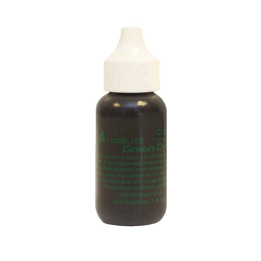 Alumilite Dye Green 29.6ml (1fl.oz)