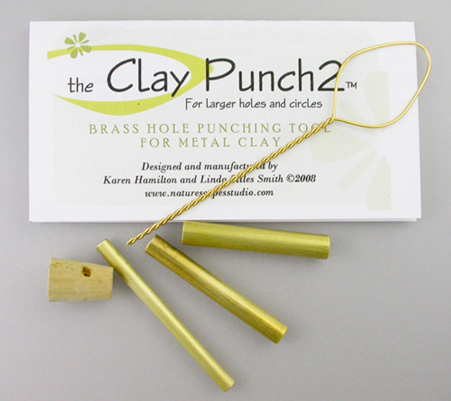 Clay Punches - Large Round - 3 Sizes
