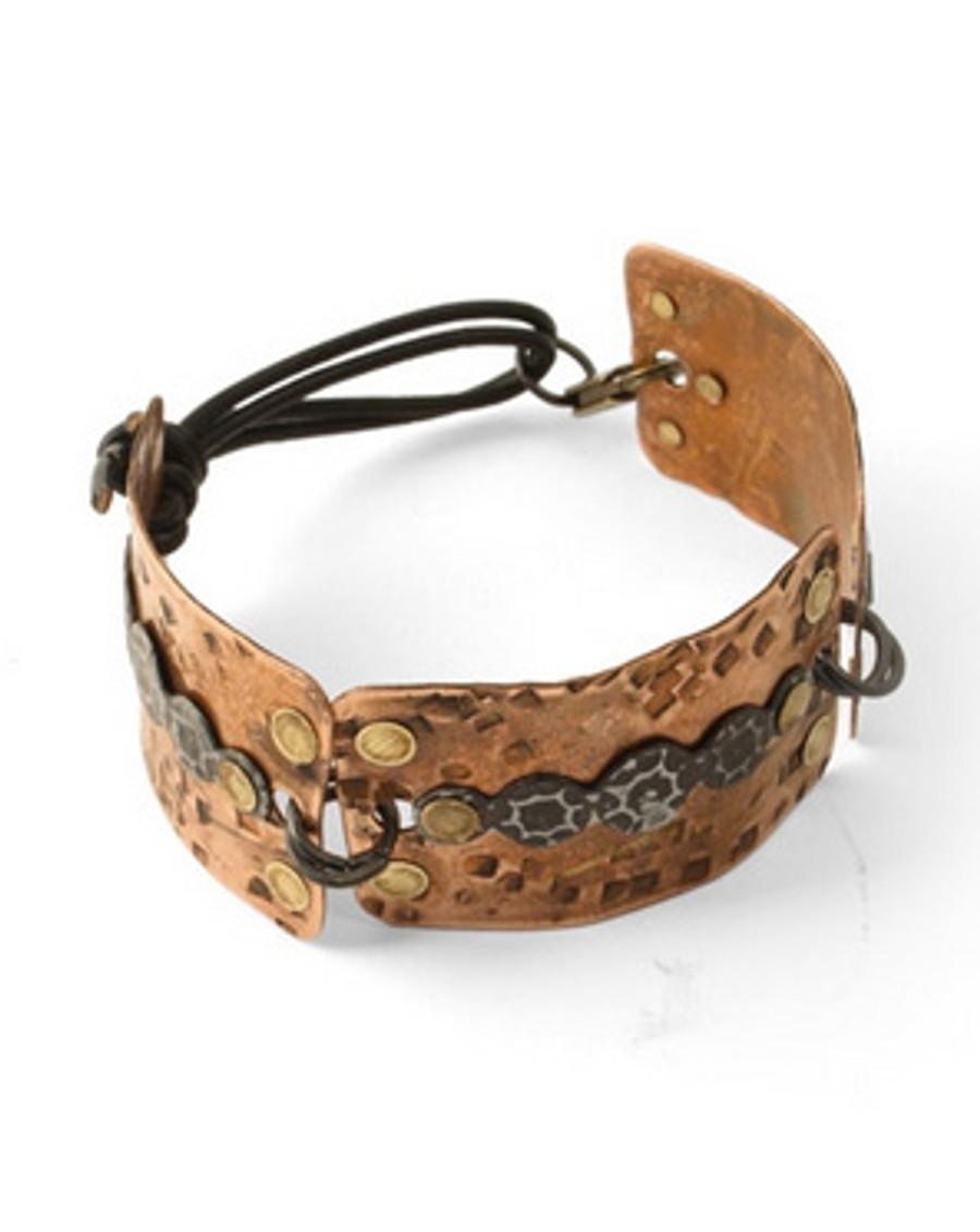 Project Idea - Copper Blank Rectangular Bracelet Vintaj
