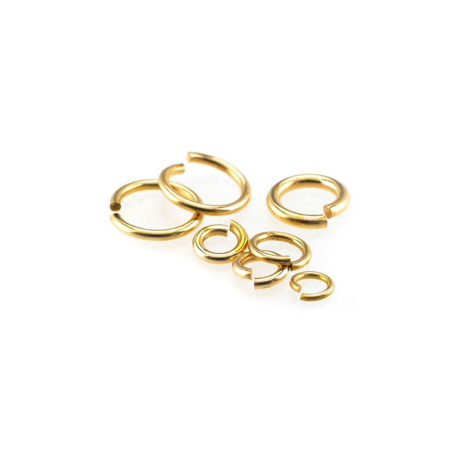 Jump Ring Bronze 7mm 16 Gauge - Pack of 10