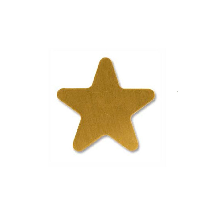 Brass Blank Star 20mm