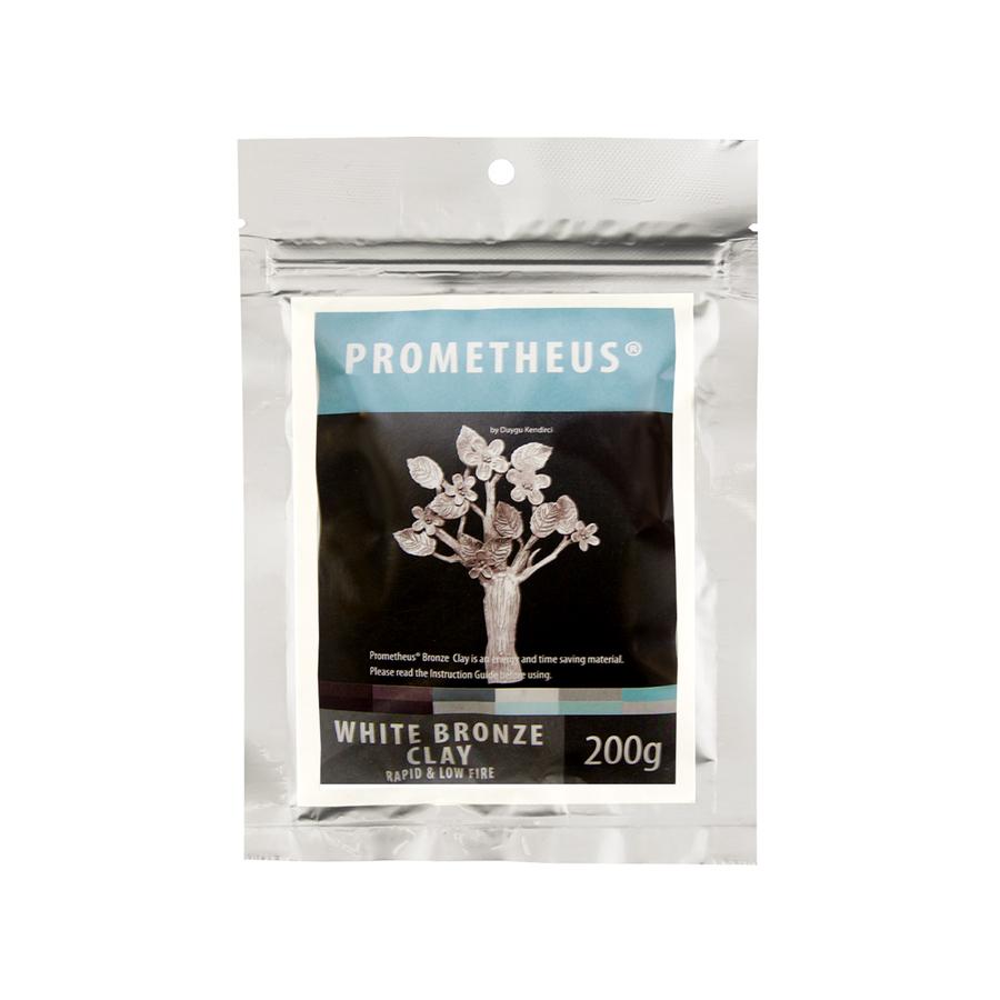 Prometheus White Bronze Clay - Rapid & Low Fire