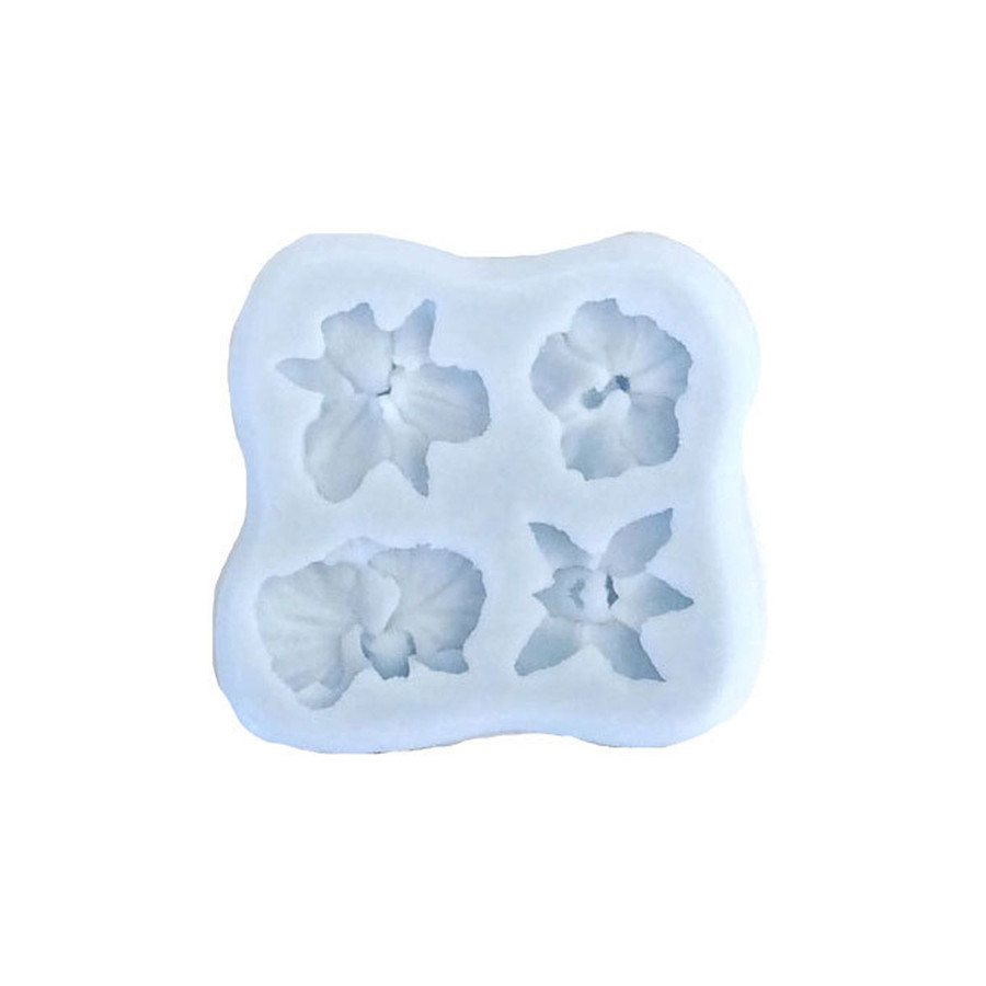 Silicone Mould - Orchid Designs