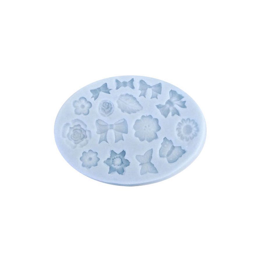Silicone Mould - Bow & Flower Designs
