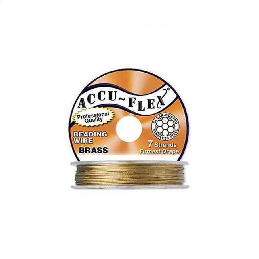 Accuflex Beading Wire - Brass