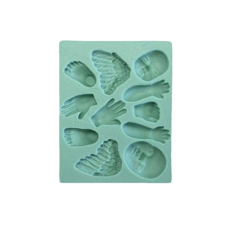 Best Flexible Moulds by Penni Jo - Sweet Cherubs