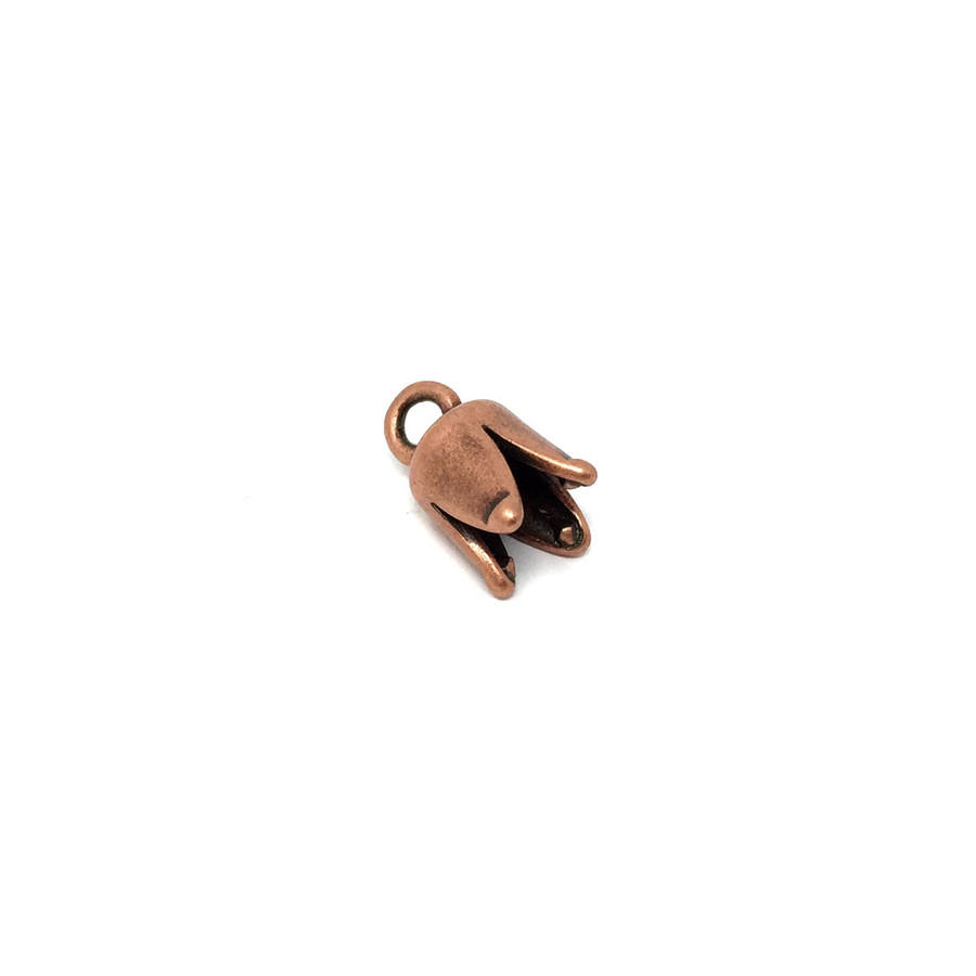 Cord End Caps - Copper Plated
