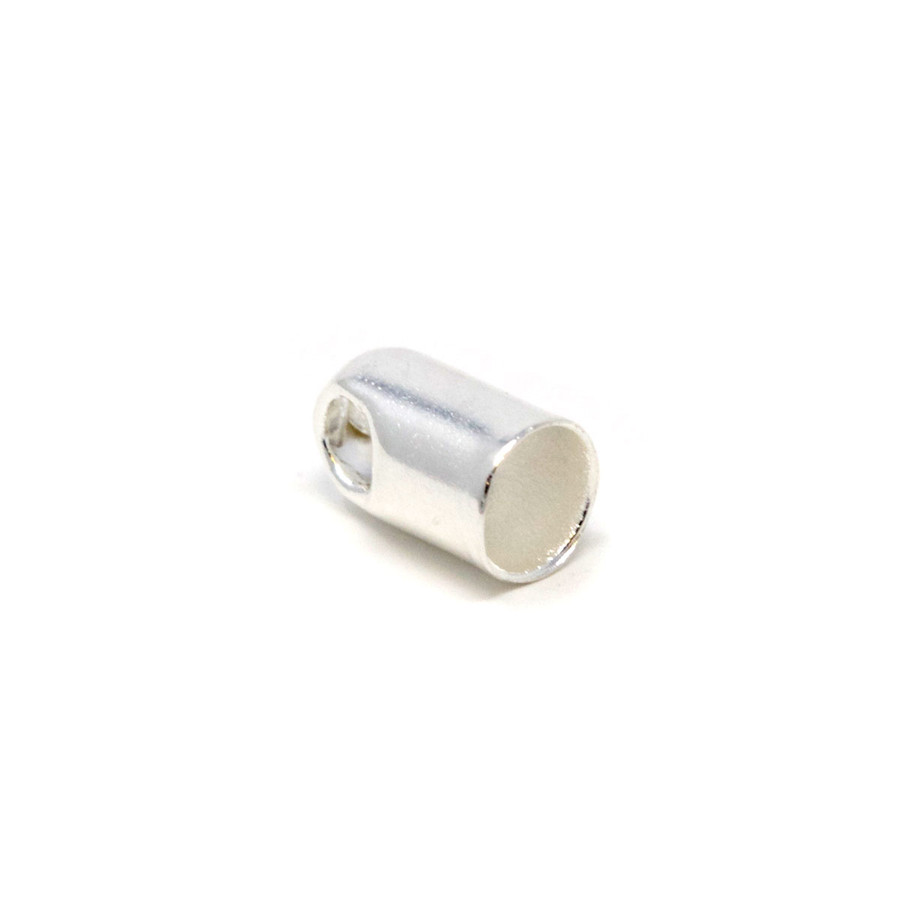 Cord End - Silver Plated 2.5mm