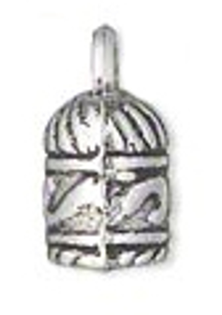 Antiqued Silver-Finished Glue In Cord End