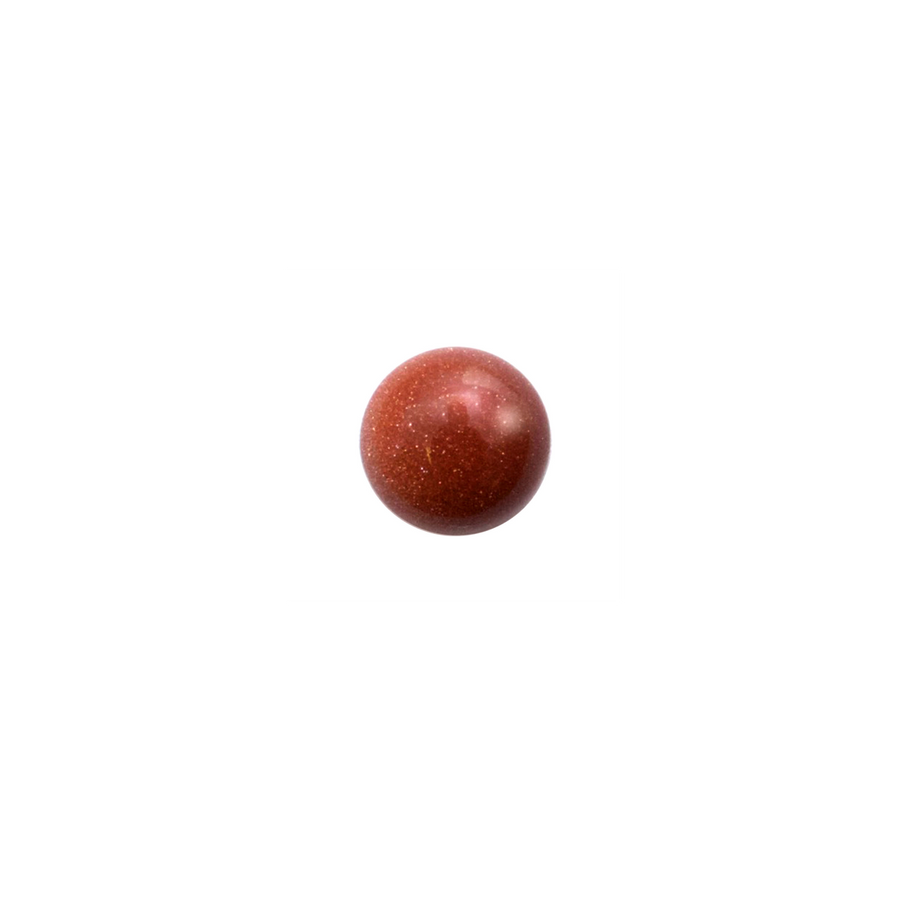 Round Cabochon - Brown Goldstone - 8mm
