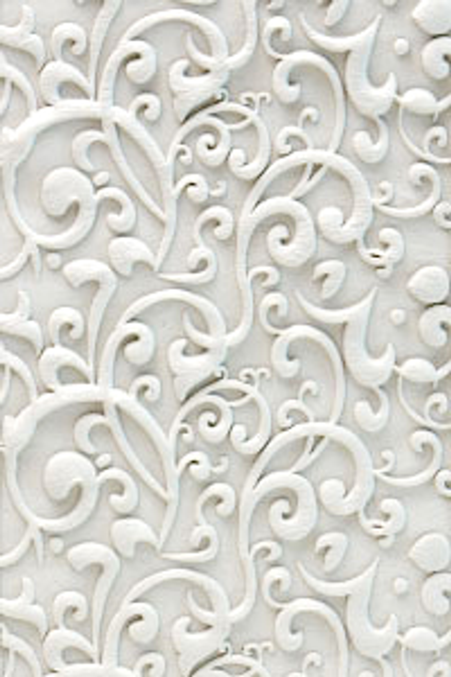 Acrylic Texture Roller 5cm - Curlicue