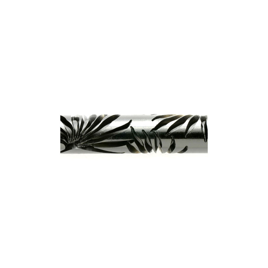 Acrylic Texture Roller 5cm - Palm Fronds