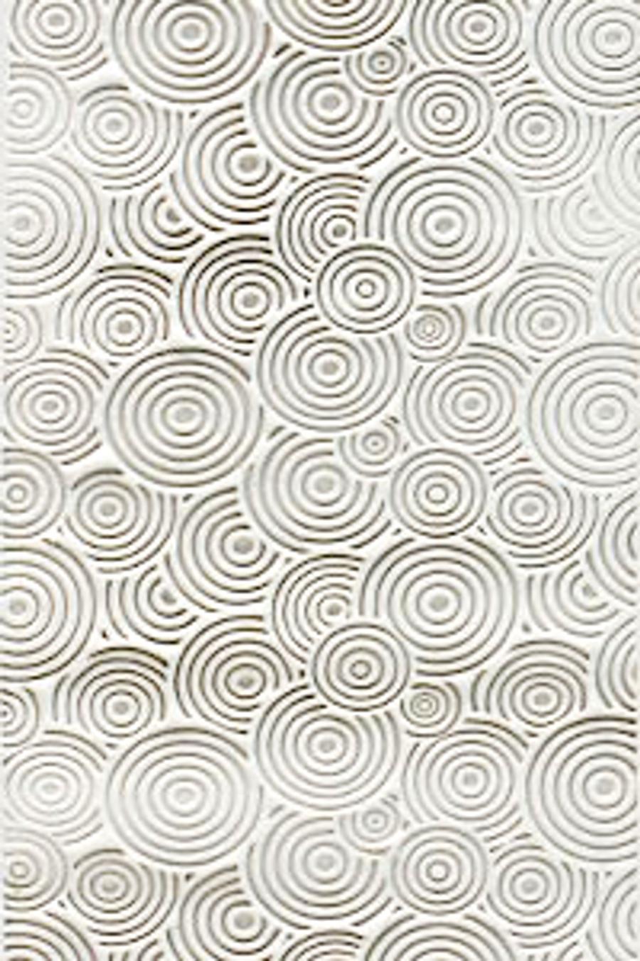 Acrylic Texture Small Roller (KTR) - Raindrop Ripples - 5cm