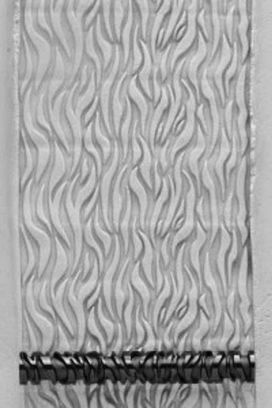 Acrylic Texture Large Roller (KPCR) - Flames - 7.5cm