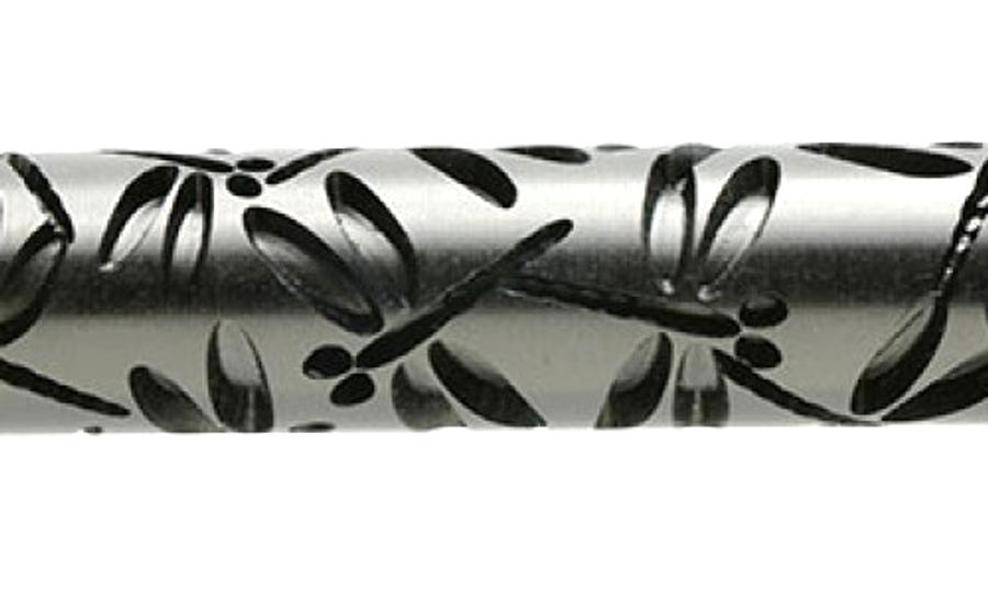 Large Acrylic Texture Roller - Dragonflies 7.5cm