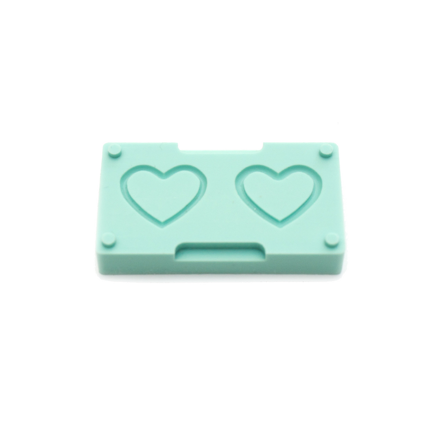 Bead Builder Mould Add-on - Frame Adapter - Heart