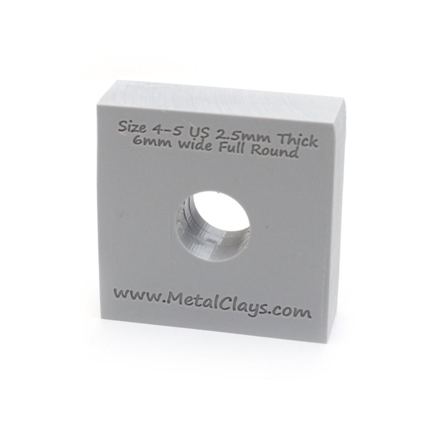 Ring Maker Mould 6mm Wide - UK Size H-J (4-5)