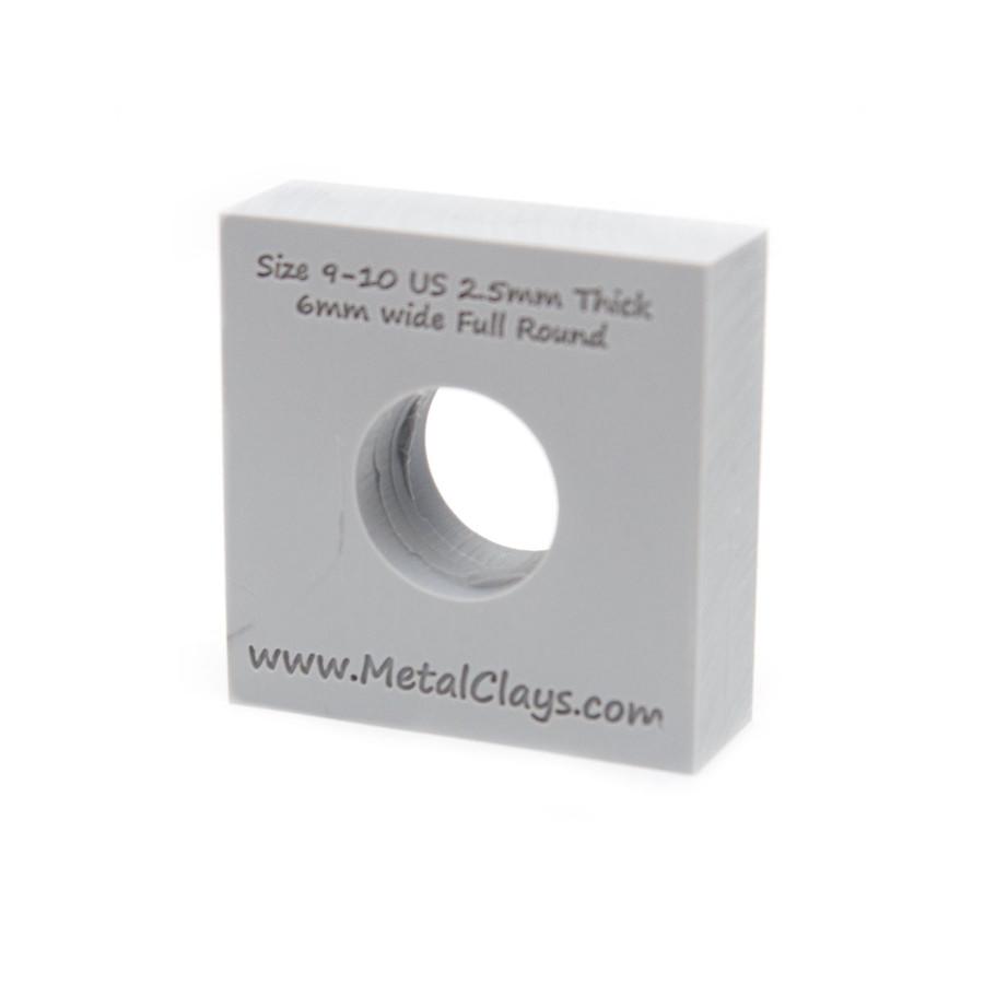 Ring Maker Mould 6mm Wide - UK Size R-T