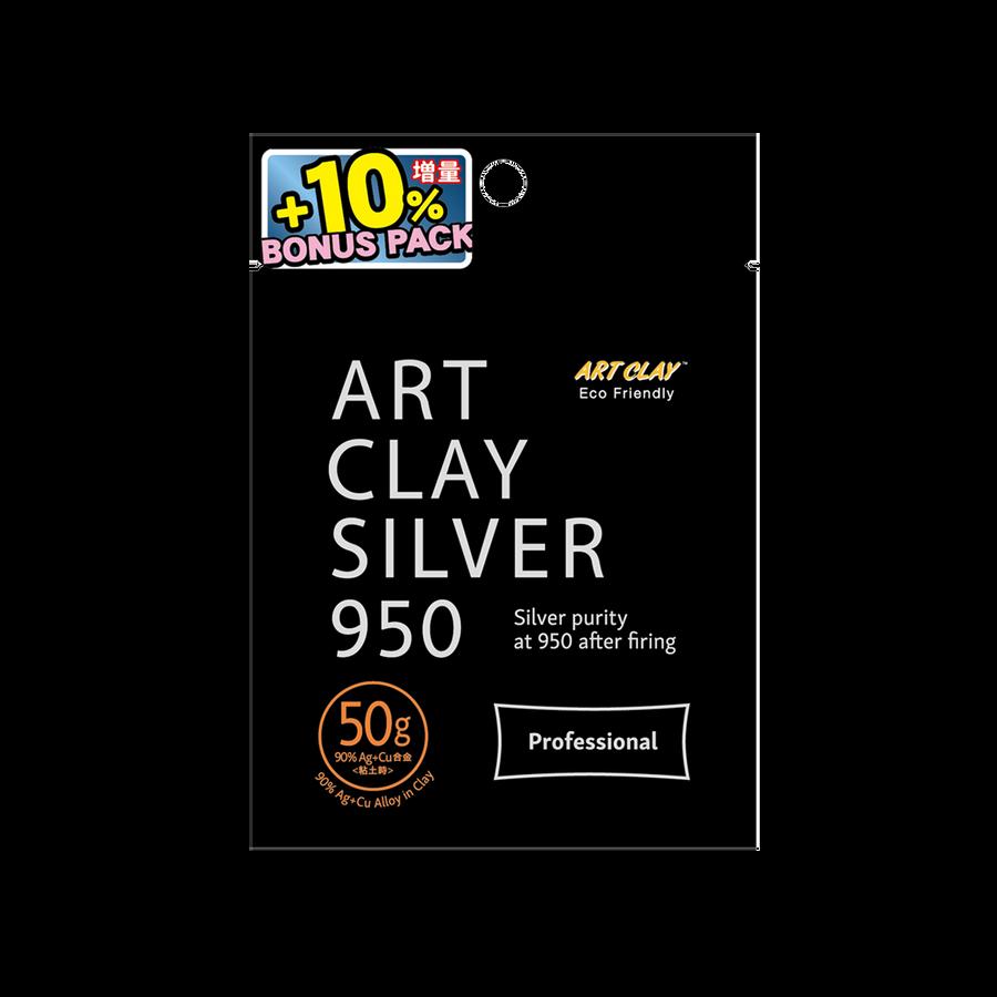 Art Clay Silver 950 STERLING - 50g + 5g bonus