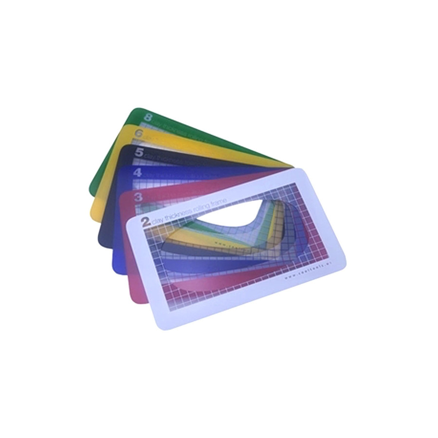 Clay Thickness Rolling Frames - Set of 6
