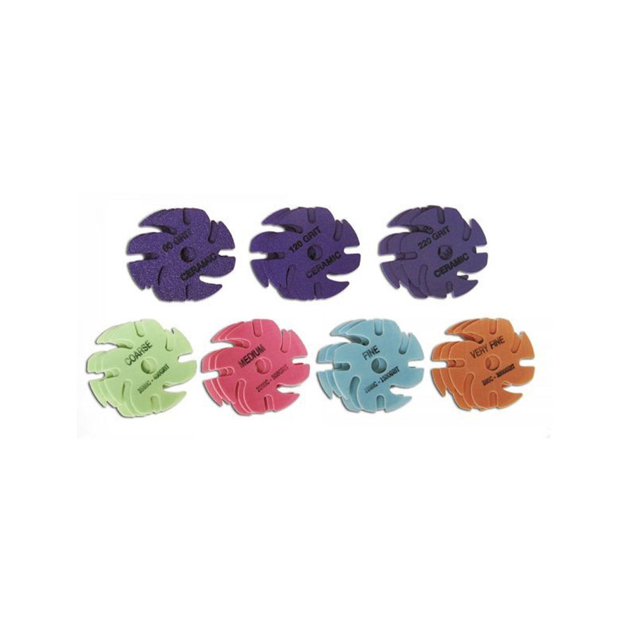 JoolTool Essentials: 3M Deluxe Abrasive Kit - Trizact & Purple Ceramic