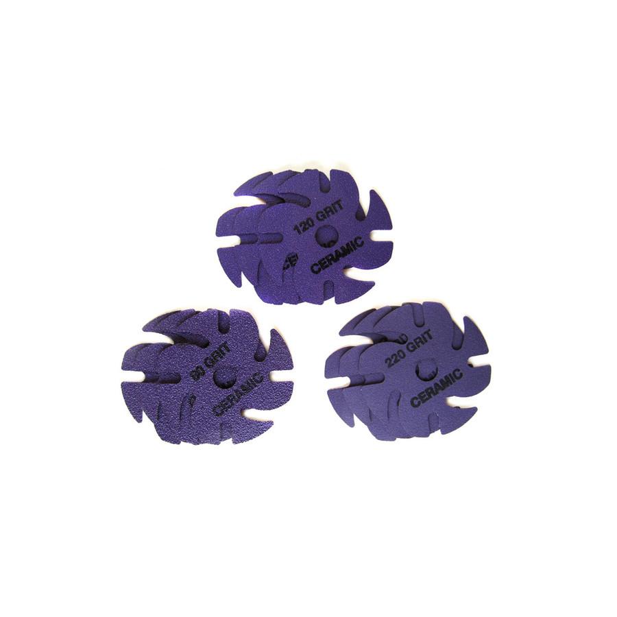 "JoolTool Essentials: Ceramic 3M Ninja Abrasive Kit 3"" - 9 pk"