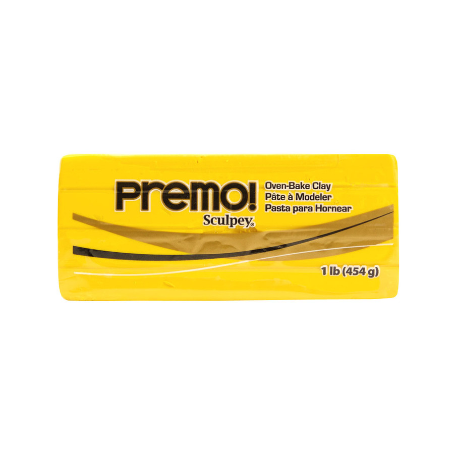 *Premo Sculpey, Cadmium Yellow - Large