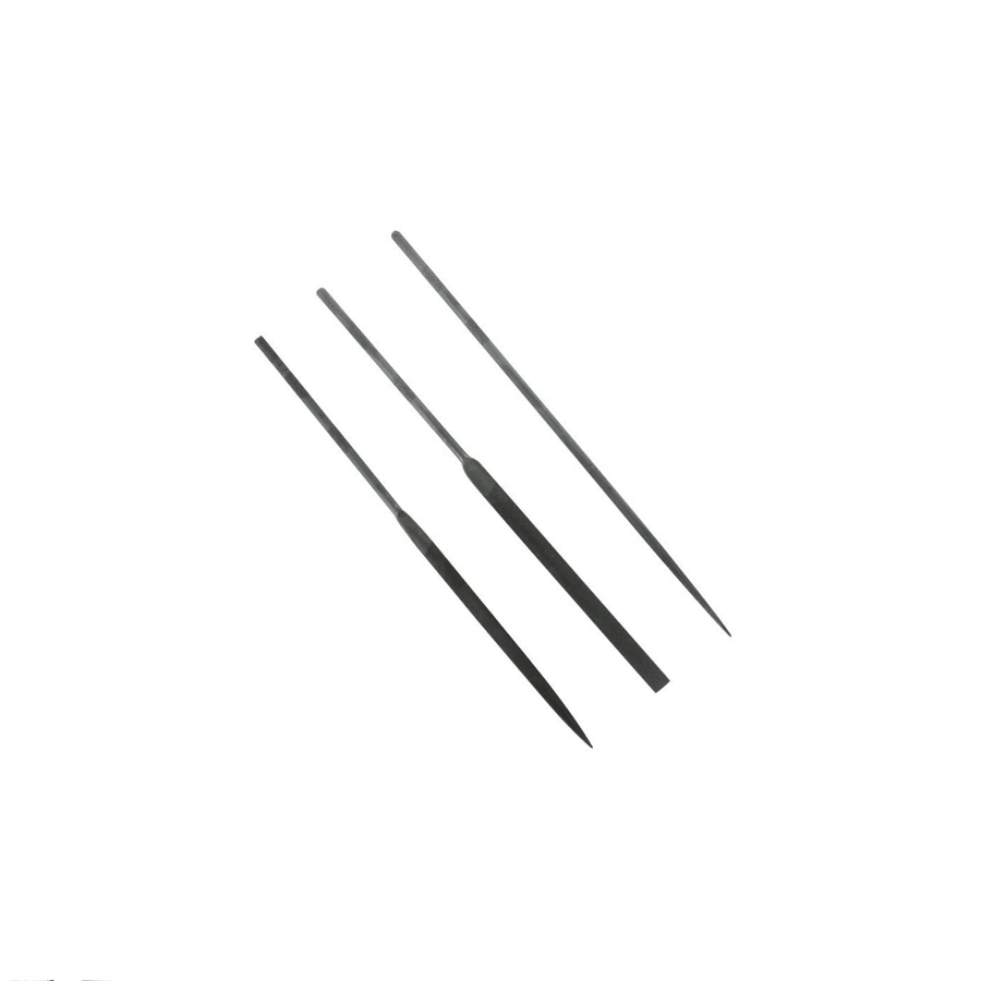 Precision Needle Files - Set of 3