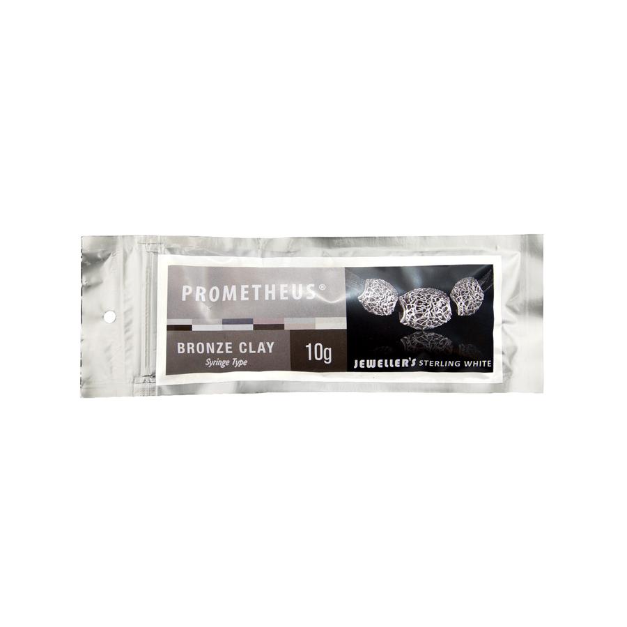 Prometheus Jeweller's Sterling White - Bronze Clay Syringe - 10g
