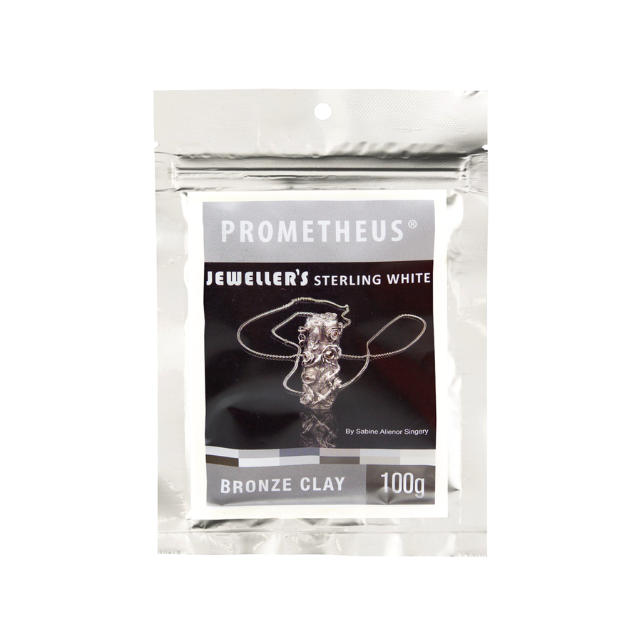 Prometheus Jeweller's Sterling White Bronze Clay