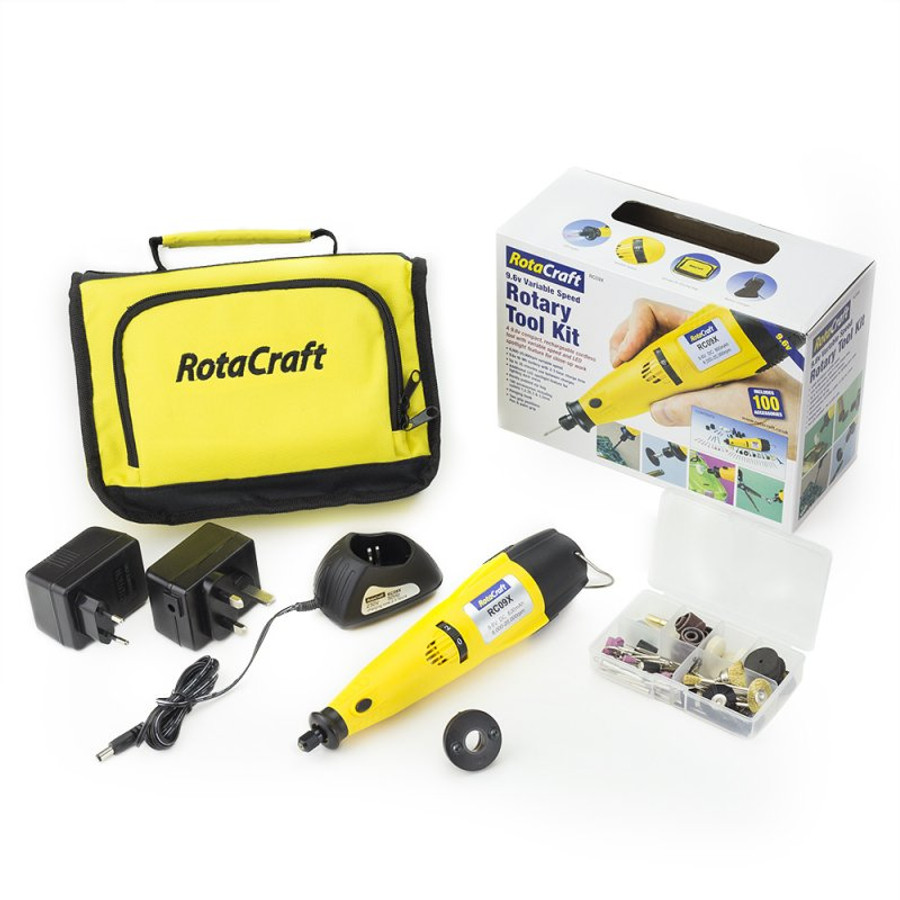 Rotary Tool - polish, grind, and shape with ease!
