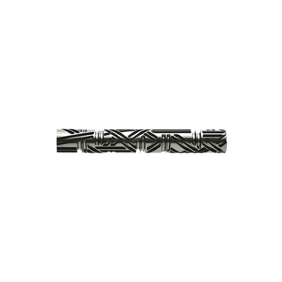 Large Acrylic Texture Roller - Crazy Wicker Weave 7.5cm