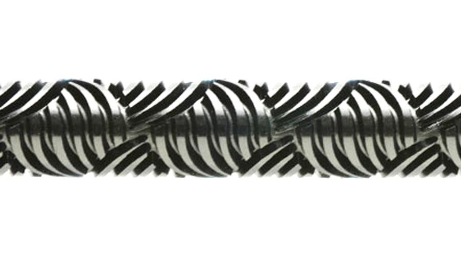 Acrylic Texture Large Roller (KPCR) - Rapunzel's Weave - 7.5cm